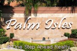 Palm Isles community sign